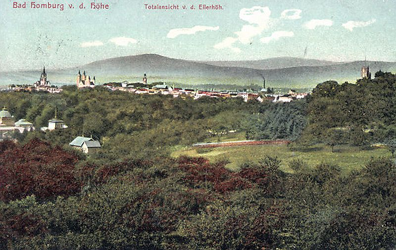 Panorama Bad Homburg 1908