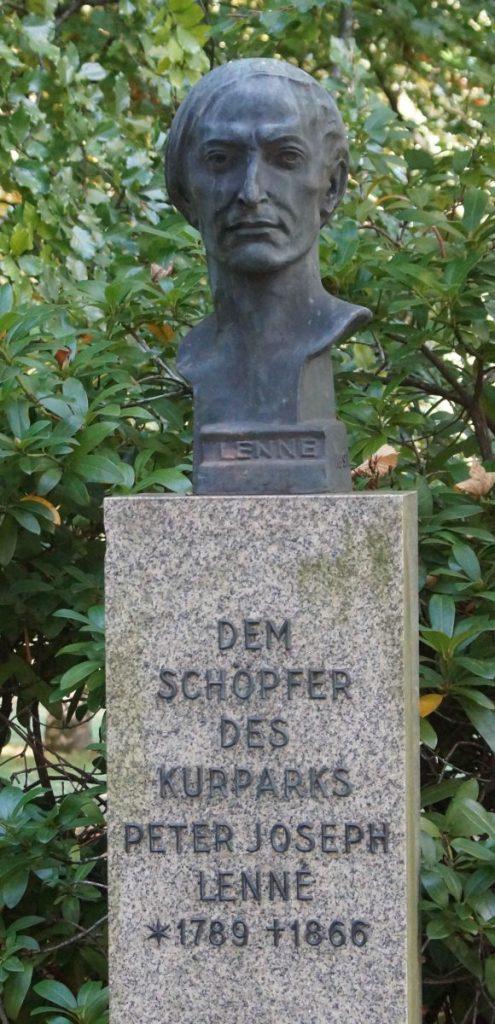 Peter Joseph Lenné Schöpfer des Kurparks Bad Homburg