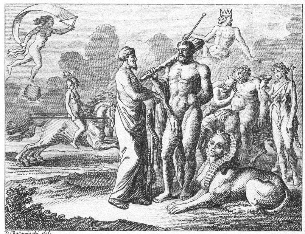Aesculap und Herkules