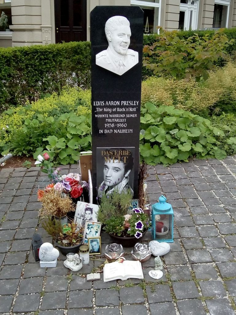 Elvis-Stele Elvis-Presley-Platz Bad Nauheim