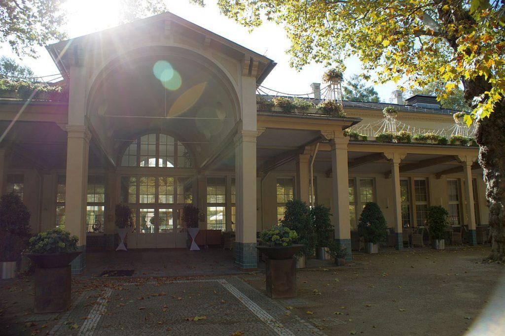 Wandelhalle Kurpark Bad Homburg