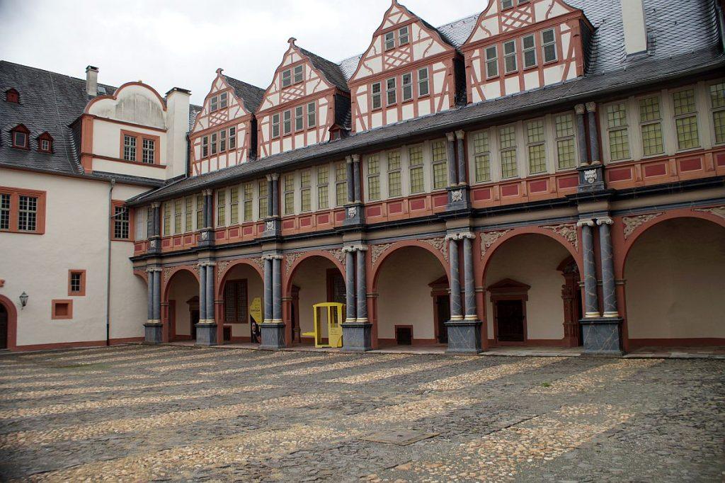Innenhof Schloss Weilburg
