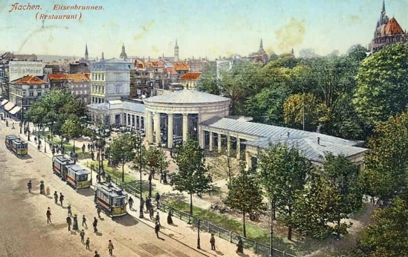 Bad Aachen Elisenbrunnen um 1910