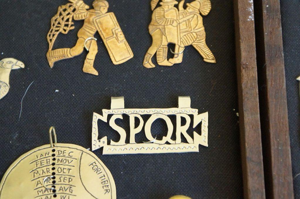 römische Zeit SPQR
