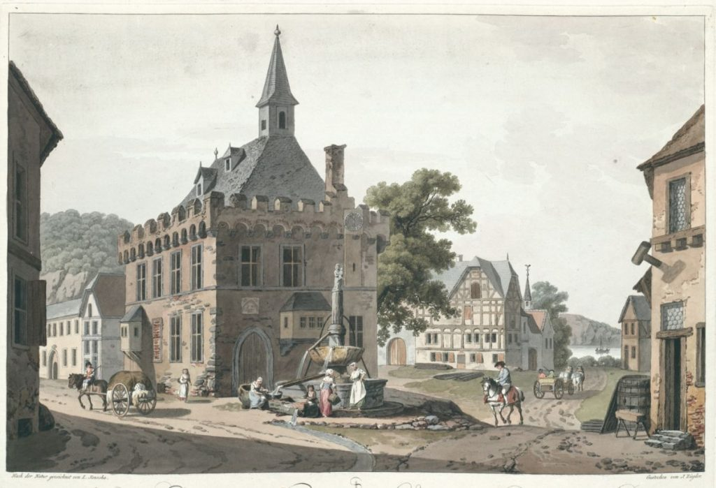Remagen Ansicht des Rathauses