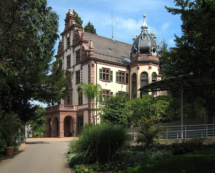 Ehemaliges Großherzogliches Palais in Badenweiler. Badenweiler/Süd-Schwarzwald/Deutschland