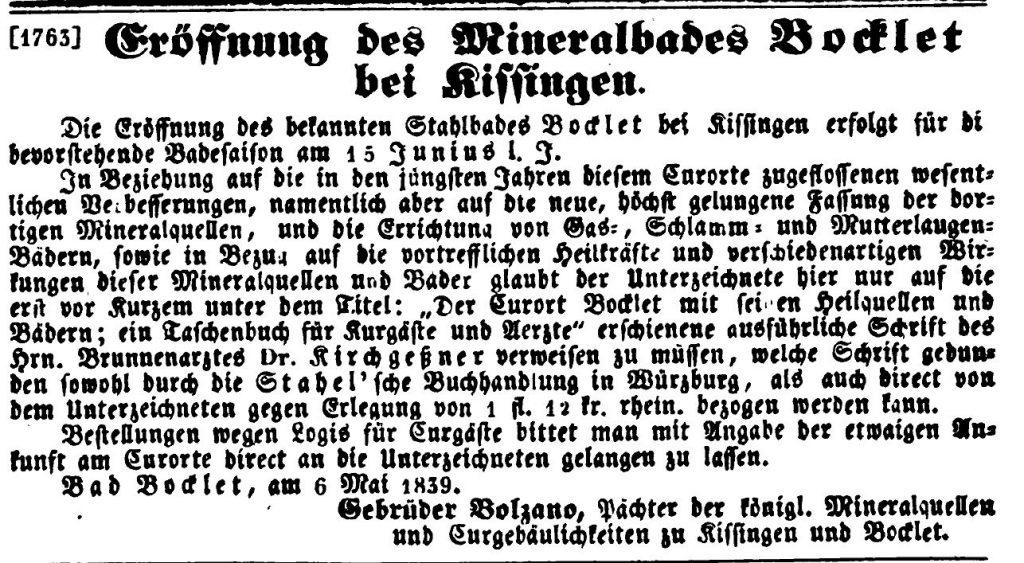 Anzeige Bad Bocklet