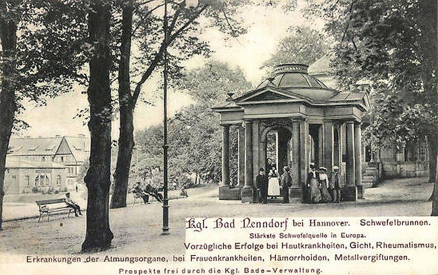 Bad Nenndorf Schwefelbrunnen
