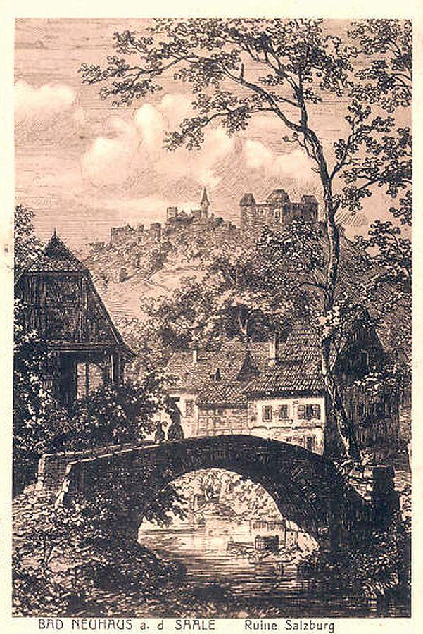 Bad Neuhaus an der Saale und Salzburg