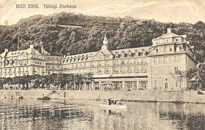 Kurhaus Bad Ems 1914