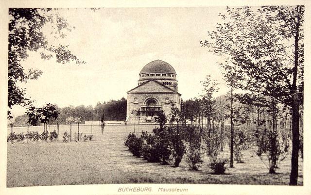 Mausoleum Bückeburg - Architekt Paul Baumgarten