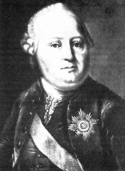 Fürst Simon August zur Lippe