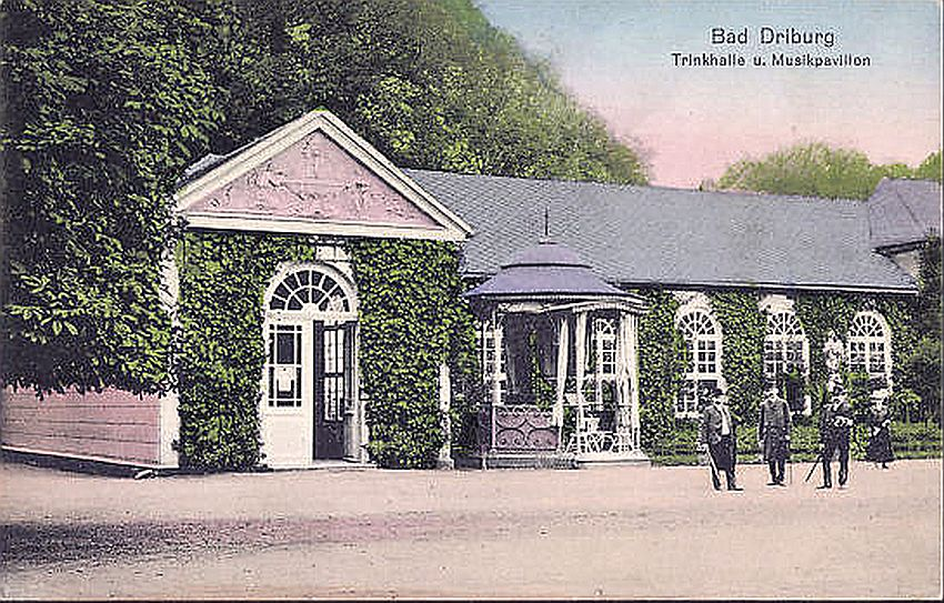 Bad Driburg Trinkhalle und Musikpavillon