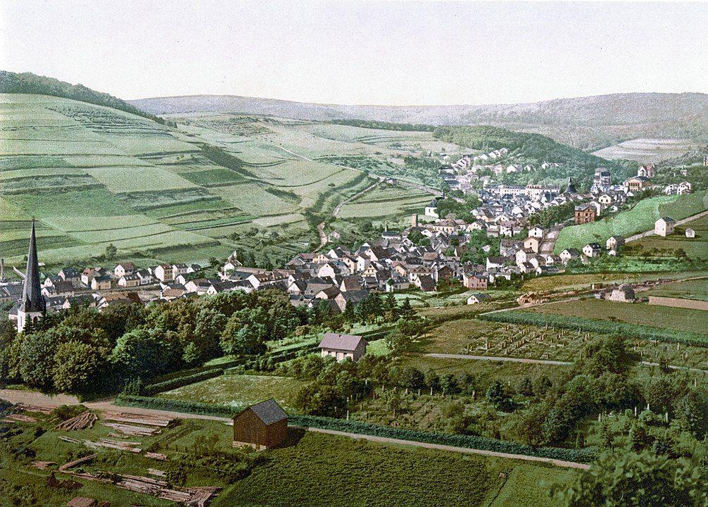 Bad Langenschwalbach um 1900
