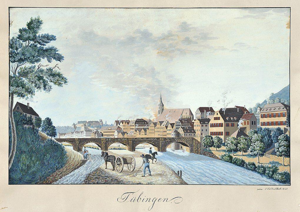 Tübingen um 1820