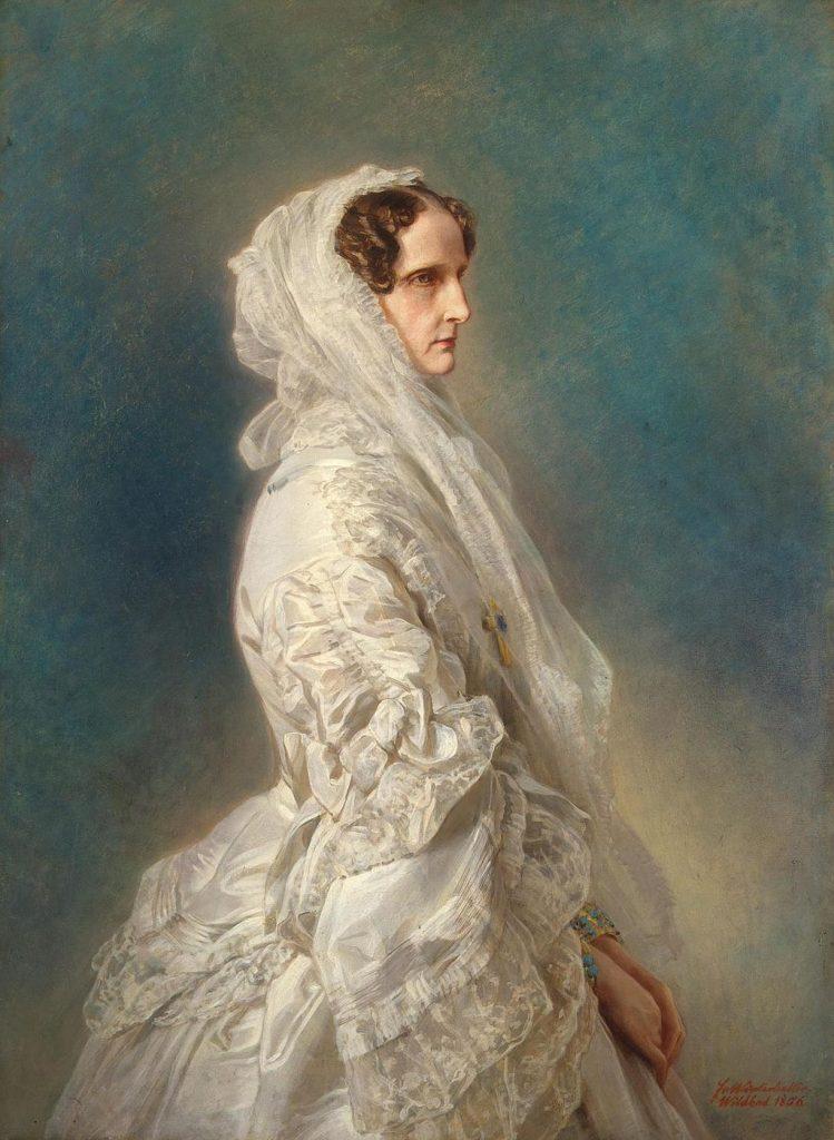 Zarin Alexandra Fjodorowna von Russland Franz Xaver Winterhalter / Public domain