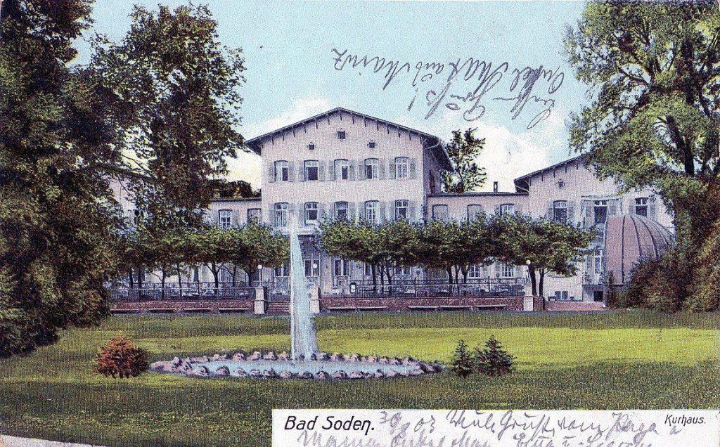 Bad Soden am Taunus Kurhaus 1849