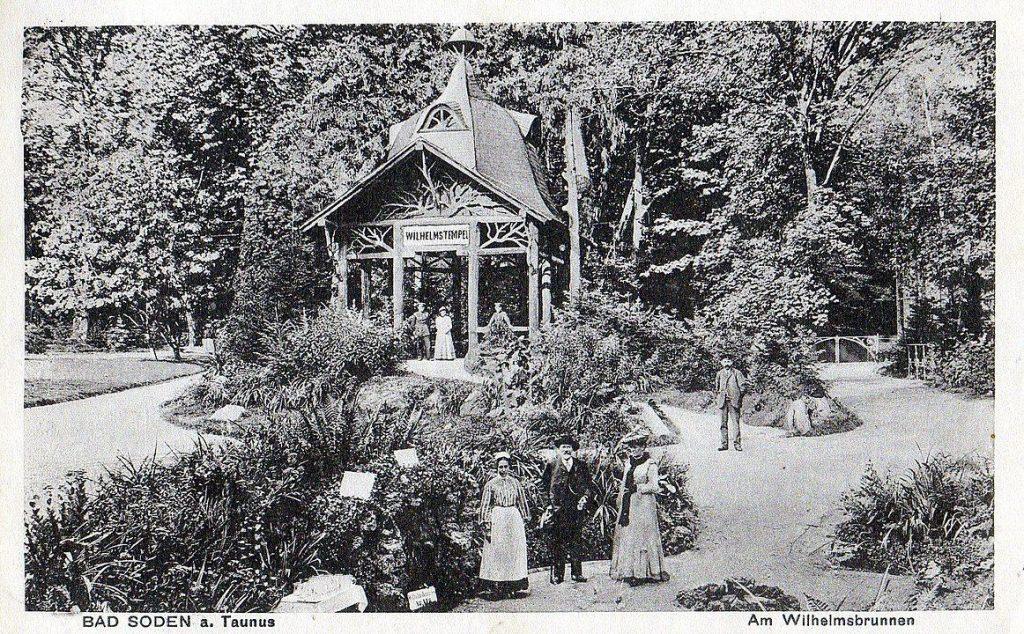 Wilhelmstempel Kurpark Bad Soden