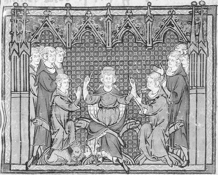 Karlmann und Karl Martell - Cannstatter Blutgericht