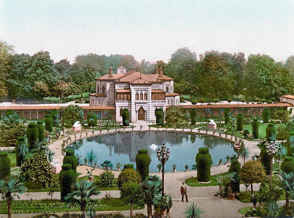 Wilhelma-Park Bad Cannstatt um 1900