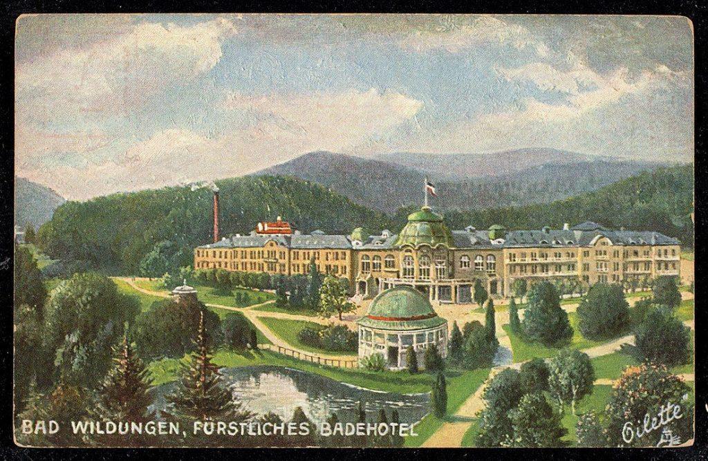 Bad Wildungen - Fürstliches Badehotel
