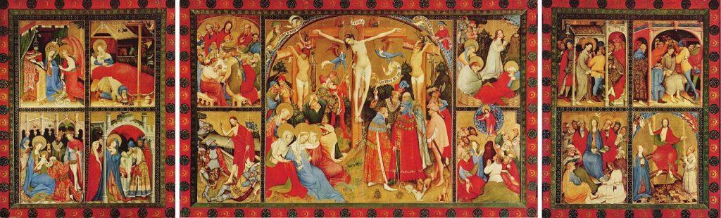 Wildunger Altar des Conrad von Soest - Bad Wildungen