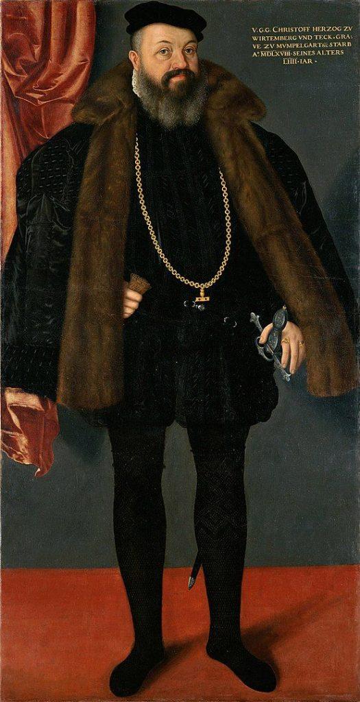 Herzog Christoph von Württemberg
