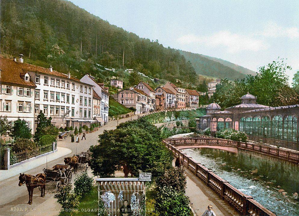 Wildbad um 1900