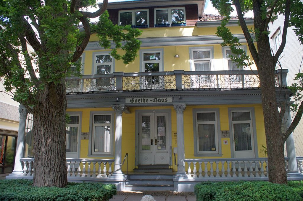Goethe-Haus in Bad Pyrmont