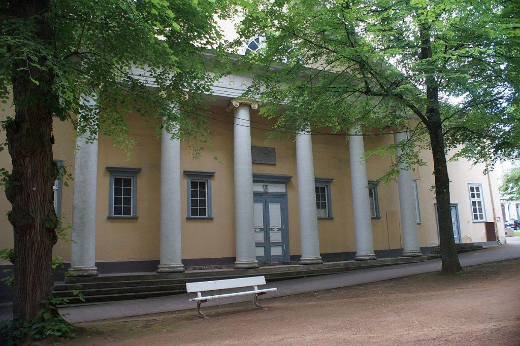 Schauspielhaus von Bad Pyrmont, errichtet nach 1784