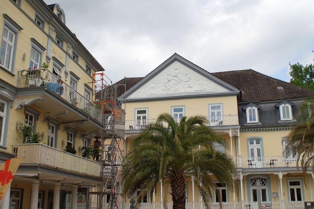 mondäne Architektur in Bad Pyrmont
